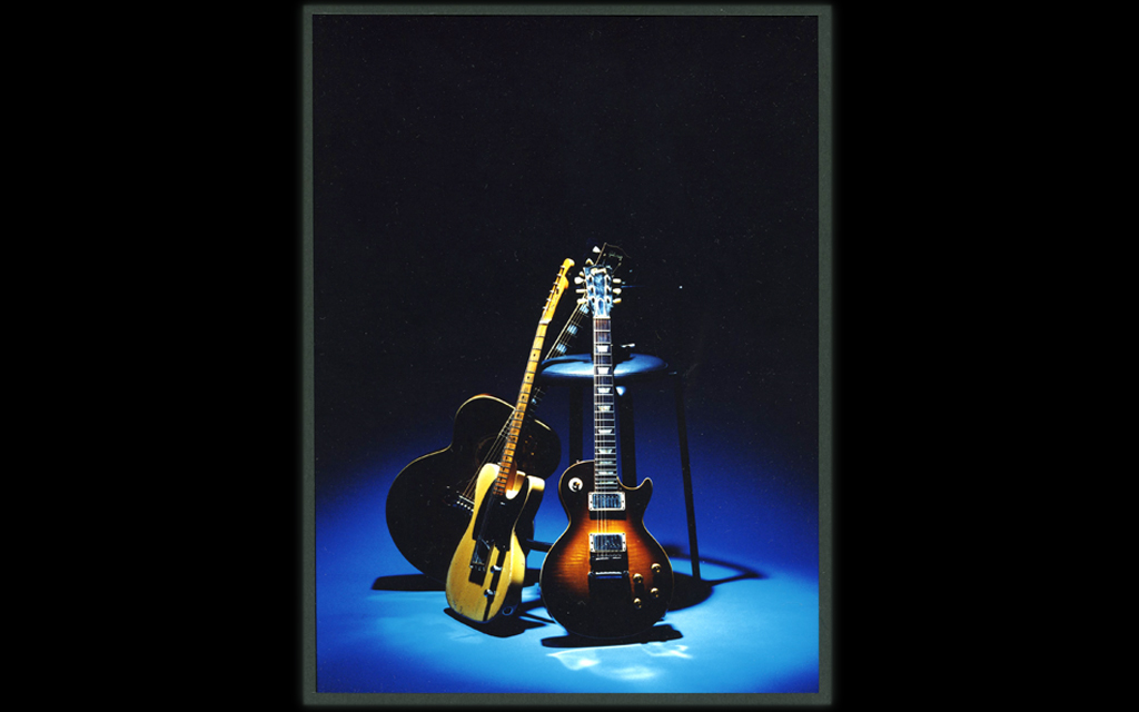 image of the guitars